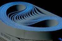 Finished belts at Siegling America, in Huntersville,  NC. Siegling America is a worldwide leader in belting technology.