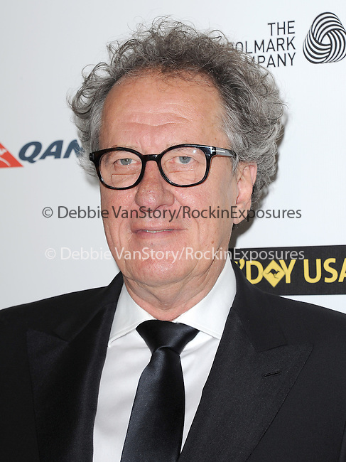 Geoffrey Rush attends The G'Day USA Black Tie Gala held at  JW Marriot at LA Live in Los Angeles, California on January 11,2014                                                                               © 2014 Hollywood Press Agency