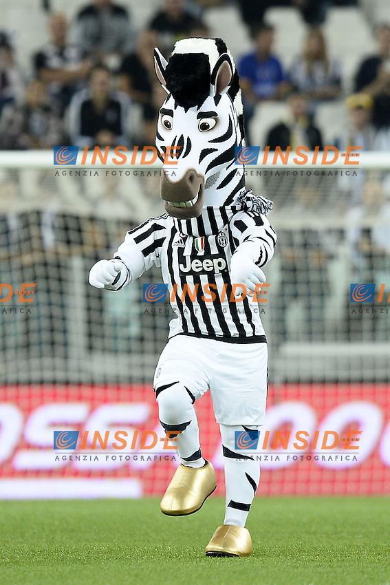 mascotte Juventus<br /> Torino 12-09-2015 Stadio Olimpico, Football Calcio Serie A 2015/2016, Juventus-Chievo Verona, Foto Daniele Buffa/Image Sport/Insidefoto