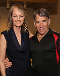 "Helen Hunt and Stephen Schwartz attends the Opening Night performance afterparty for ENCORES! Off-Center production of ""Working - A Musical""  at New York City Center on June 26, 2019 in New York City."