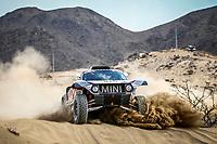 31st December 2020, Jeddah, Saudi Arabian. The vehicle and river shakedown for the 2021 Dakar Rally in Jeddah;   302 Peterhansel St phane fra, Boulanger Edouard fra, Mini, X-Raid Mini JCQ Team, Auto, action during the shakedown of the Dakar 2021 in Jeddah