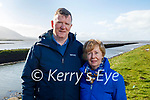 Enjoying a stroll at the Lock gates in Blennerville on Sunday, l to r: Michael and Catherine Healy,