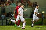 Baha Abdelrahman Suleiman of Jordan in action during the International Friendly match between Hong Kong and Jordan at Mongkok Stadium on June 7, 2017 in Hong Kong, China. Photo by Cris Wong / Power Sport Images