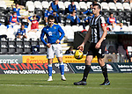 St Mirren v St Johnstone…29.08.21  SMiSA Stadium    SPFL<br />A wry smile from Glenn Middleton after his free kick hit the bar<br />Picture by Graeme Hart.<br />Copyright Perthshire Picture Agency<br />Tel: 01738 623350  Mobile: 07990 594431