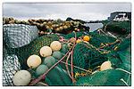 Fish nets at Reykjavik harbour