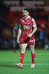 Scarlets center Olly Barkley.<br /> Celtic League<br /> Scarlets v Munster<br /> <br /> 01.03.14<br /> <br /> ©Steve Pope-SPORTINGWALES