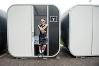 Thursday 02 July 2015<br /> Pictured: Leon Britton <br /> Re: Swansea City FC install sleeping pods at their training ground to help the players stay focused between training sessions
