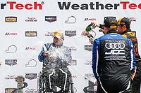 TCR Podium, #54 JDC-Miller MotorSports, Audi RS3 LMS TCR, TCR: Michael Johnson, Stephen Simpson, #12 eEuroparts.com Racing, Audi RS3 LMS TCR, TCR: Kenton Koch, Tom O'Gorman, #74 Compass Racing, Audi RS3 LMS TCR, TCR: Rodrigo Sales, Kuno Wittmer