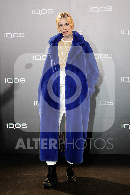 Brisa Fenoy attends to IQOS3 presentation at Palacio de Cibeles in Madrid. February 10,2019. (ALTERPHOTOS/Alconada)