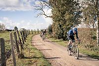 Edvald Boasson Hagen (NOR/NTT) over the Plugstreets<br /> <br /> 82nd Gent-Wevelgem in Flanders Fields 2020 (1.UWT)<br /> 1 day race from Ieper to Wevelgem (232km)<br /> <br /> ©kramon