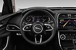 Car pictures of steering wheel view of a 2020 Jaguar XE S 4 Door Sedan