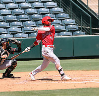Adrian Placencia - Los Angeles Angels 2021 extended spring training (Bill Mitchell)