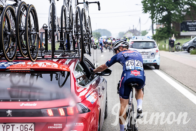 Lionel Taminiaux (BEL/Alpecin Fenix)<br /> <br /> 17th Dwars Door Het Hageland 2021<br /> One Day Race: Aarschot – Diest 18Okm (UCI 1.Pro)<br /> Bingoal Cycling Cup 2021<br /> <br /> ©kramon