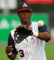 19 June 2007: Photo from the South Atlantic League All-Star game in Rome, Ga., Tuesday, June 19, 2007. Photo by:  Tom Priddy/Four Seam Images Photo by:  Tom Priddy/Four Seam Images