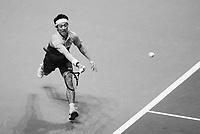 Rotterdam, The Netherlands, 16 Februari 2019, ABNAMRO World Tennis Tournament, Ahoy, Semis, Kei Nishikori (JPN),<br /> Photo: www.tennisimages.com/Henk Koster