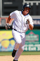 Detroit Tigers second baseman Corey Jones (63) during a game vs. the Washington Nationals in an Instructional League game at Joker Marchant Stadium in Lakeland, Florida;  October 1, 2010.   Photo By Mike Janes/Four Seam Images