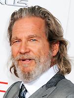 NEW YORK CITY, NY, USA - AUGUST 11: Actor Jeff Bridges arrives at the New York Premiere Of The Weinstein Company's 'The Giver' held at the Ziegfeld Theatre on August 11, 2014 in New York City, New York, United States. (Photo by Celebrity Monitor)