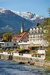 Austria, East-Tyrol, Lienz: at river Isel | Oesterreich, Osttirol, Lienz: am Fluss Isel