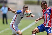 Bayamón, Puerto Rico - May 22, 2016: The USMNT take a 2-1 lead over Puerto Rico in first half action during a warm up friendly match at Juan Ramón Loubriel Stadium.
