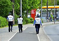 17th May 2020,Stadion An der Alten Försterei, Berlin, Germany; Bundesliga football, FC Union Berlin versus Bayern Munich;  Press Service Police on patrol