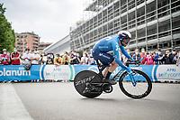 Dario Cataldo (ITA/Movistar)<br /> <br /> 104th Giro d'Italia 2021 (2.UWT)<br /> Stage 1 (ITT) from Turin to Turin (8.6 km)<br /> <br /> ©kramon