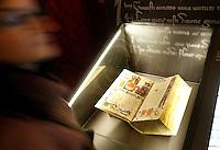 """Documenti esposti alla mostra """"Lux in Arcana - L'Archivio Segreto Vaticano si rivela"""", ai Musei Capitolini di Roma..Documents displayed at the exhibition """"Lux in Arcana - The Vatican Secret Archive reveals itself"""" at Rome's Capitoline Museums. .UPDATE IMAGES PRESS/Riccardo De Luca"""