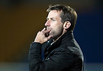 Dave Mackay Testimonial: St Johnstone v Dundee…06.10.17…  McDiarmid Park… <br />Dundee manager Neil McCann<br />Picture by Graeme Hart. <br />Copyright Perthshire Picture Agency<br />Tel: 01738 623350  Mobile: 07990 594431