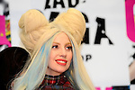 December 1st, 2013 : Tokyo, Japan - Lady Gaga, an American pop music star, had a press conference about her new album, ARTPOP, at Roppongi Hills, Roppongi, Minato, Tokyo, Japan on December 1, 2013. (Photo by Koichiro Suzuki/AFLO)