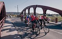 front of the race<br /> <br /> 70th Kuurne-Brussel-Kuurne 2018<br /> Kuurne › Kuurne: 200km (BELGIUM)