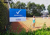 Hilversum, Netherlands, August 7, 2017, National Junior Championships, NJK, Smokefree<br /> Photo: Tennisimages/Henk Koster
