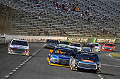 NASCAR Camping World Truck Series<br /> winstaronlinegaming.com 400<br /> Texas Motor Speedway, Ft. Worth, TX USA<br /> Friday 9 June 2017<br /> Christopher Bell, JBL Toyota Tundra and Chase Briscoe, Cooper Standard Ford F150<br /> World Copyright: Nigel Kinrade<br /> LAT Images<br /> ref: Digital Image 17TEX2nk03757