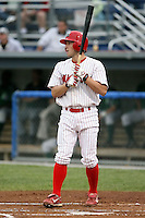 Sept. 5th, 2007:  Mike Folli of the Batavia Muckdogs, Short-Season Class-A affiliate of the St. Louis Cardinals at Dwyer Stadium in Batavia, NY.  Photo by:  Mike Janes/Four Seam Images