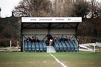 The main stand at Yate Town Football Club