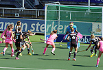 The Hague, Netherlands, June 06: Carla Rebecchi #11 of Argentina scores a field goal during the second half during the field hockey group match (Women - Group B) between Germany and Argentina on June 6, 2014 during the World Cup 2014 at Kyocera Stadium in The Hague, Netherlands. Final score 0-3 (0-2) (Photo by Dirk Markgraf / www.265-images.com) *** Local caption ***  Nina Hasselmann #10 of Germany, Rocio Sanchez Moccia #17 of Argentina, Tina Bachmann #2 of Germany, Katharina Otte #13 of Germany, Carla Rebecchi #11 of Argentina, Jana Teschke #4 of Germany, Barbara Vogel #17 of Germany