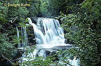 WF01-004z  Waterfall - Katahdin Falls, Baxter State Park, Maine
