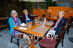 Enjoying the evening in Croi on Saturday, l to r: Mags Carroll, Rose Griffin and Peggy O'Shea from Tralee
