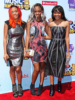 LOS ANGELES, CA, USA - APRIL 26: Lauryn McClain, Sierra McClain, China Anne MaClain at the 2014 Radio Disney Music Awards held at Nokia Theatre L.A. Live on April 26, 2014 in Los Angeles, California, United States. (Photo by Xavier Collin/Celebrity Monitor)