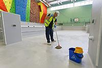 2020 04 16 Llandarcy Field Hospital, Wales, UK