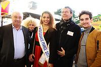 MARCEL CAMPION, LIVIA HOARAU, Miss Elegance 2017, JEAN LUC REICHMANN & FLORIAN HESSIQUE - Soirée d'inauguration de la foire du trône 2017 - Paris, France - 31/03/2017