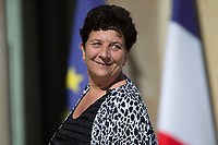 French Minister of Higher Education, Research and Innovation Frédérique Vidal; arrives to the Elysee presidential palace for the weekly cabinet meeting on Wednesday, 28 June 2017 in Paris # CONSEIL DES MINISTRES DU 28/06/2017