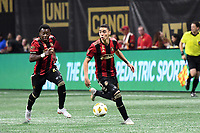 Miguel Almiron, George BelloAtlanta, GA - Atlanta United maintained the lead in the race for the 2018 Supporters Shield, defeating Real Salt Lake, 2-0, at Mercedes-Benz Stadium.