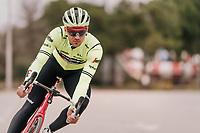 Edward THEUNS (BEL/Trek-Segafredo)<br /> <br /> Team Trek-Segafredo training camp<br /> Mallorca jan2019<br /> <br /> ©kramon