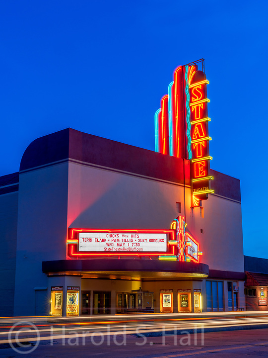 The restored movie theater in Red Bluff, California is a step back in time.