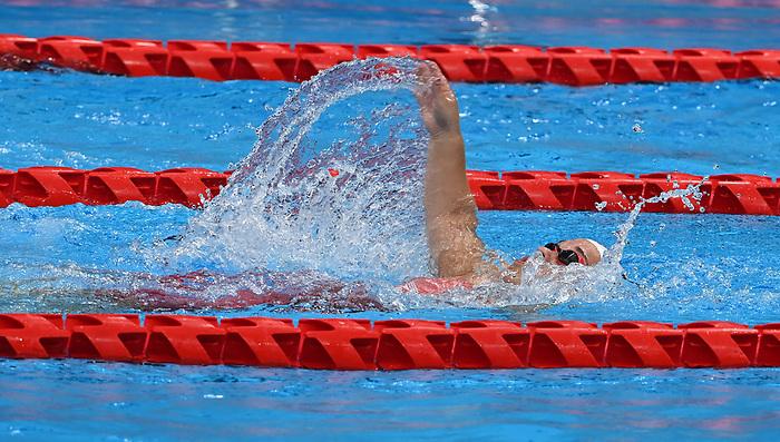 Danielle Kisser, Tokyo 2020 - Para Swimming // Paranatation.<br /> Canada competes in the women's 4x100m Medley Relay // Le Canada participe au relais 4x100m quatre nages féminin. 09/2/2021.