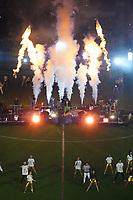 BOGOTÁ – COLOMBIA, 11-01-2019: Elgrupo Chocquibtown, grupo colombiano es el encargado del espectáculo de inauguración del Torneo Fox Sports 2019, jurado en el estadio Nemesio Camacho El Campin de la ciudad de Bogotá / The group Chocquibtown, Colombian group is in charge of the opening show of the Fox Sports 2019 Tournament, played at the Nemesio Camacho El Campin stadium in the city of Bogotá. / Photo: VizzorImage / Diego Cuevas / Cont.