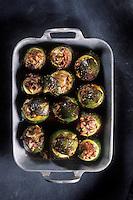 Gastronomie générale / Cuisine générale :  Figues farcies à la chair de poularde