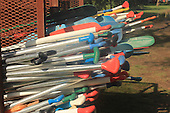 Colorful Canoe Paddles