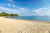 The beach Achladies of Skiathos island, Greece