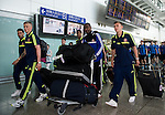 Sunderland  arrive to the Hong Kong International Airport ahead the HKFC Citibank Soccer Sevens 2014 on May 21, 2014 in Hong Kong, China. Photo by Aitor Alcalde / Power Sport Images
