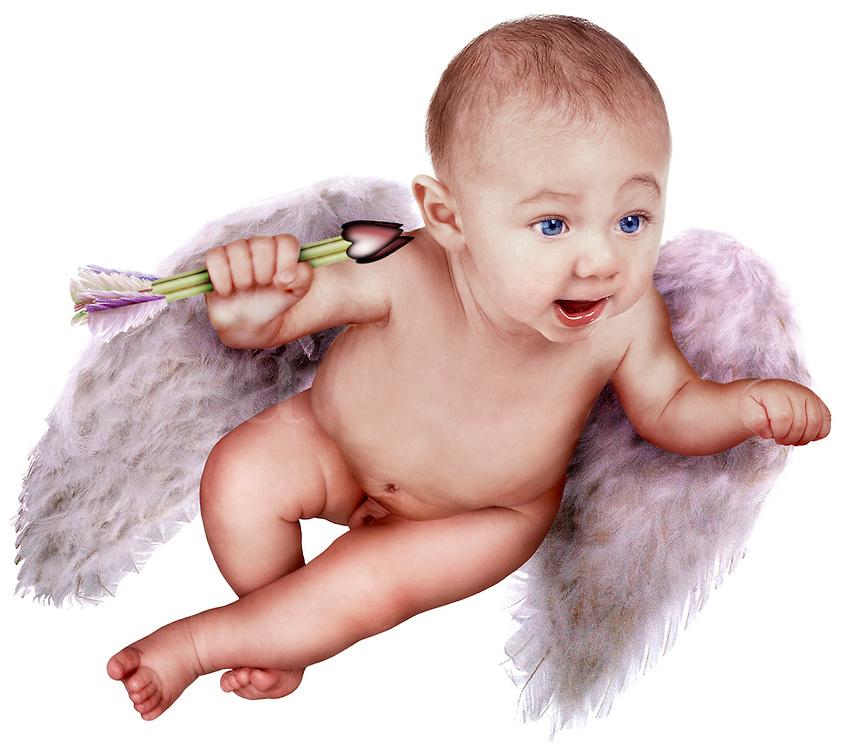 Baby cherub.